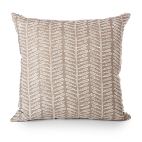 block printed kuku smoke linen cushion