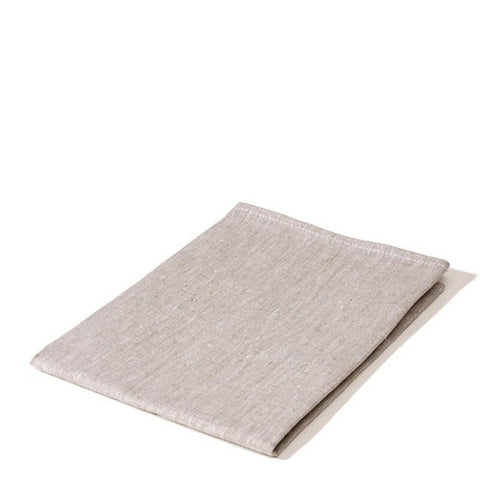 plain linen tea towel