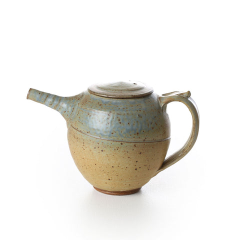 david collins - large teapot blue #1