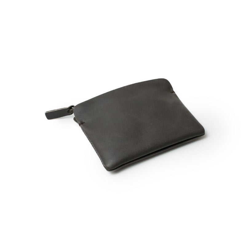 concrete zipper wallet - small