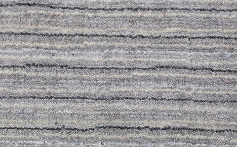 "hand knotted ""bamboo silk"" pile pale grey colour"