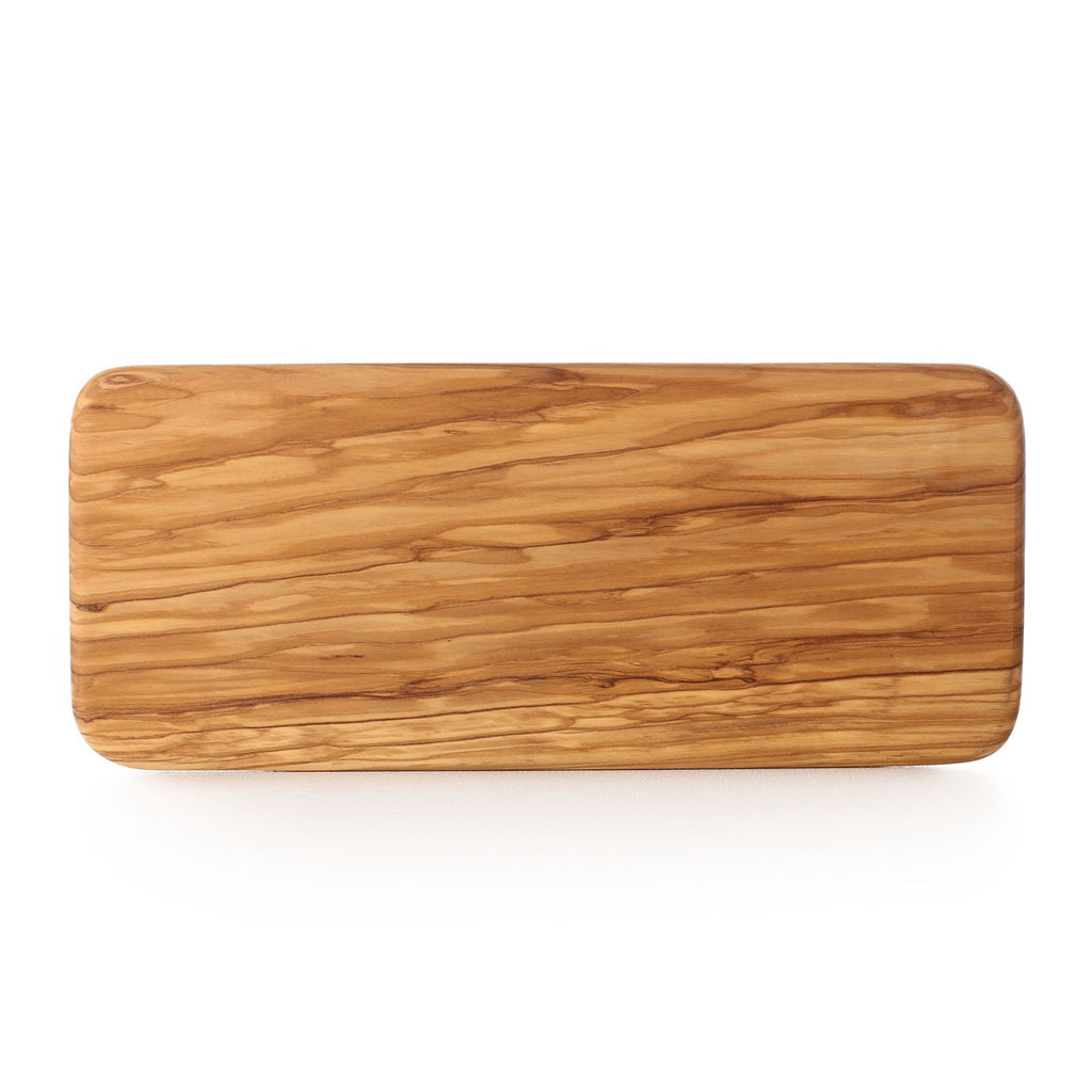 olive wood rectangle cutting board - 35x15cm