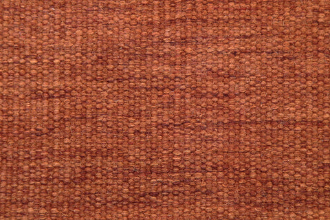 flat weave dhurries wool paprika