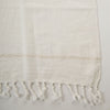 large cotton towels- handwoven & handspun