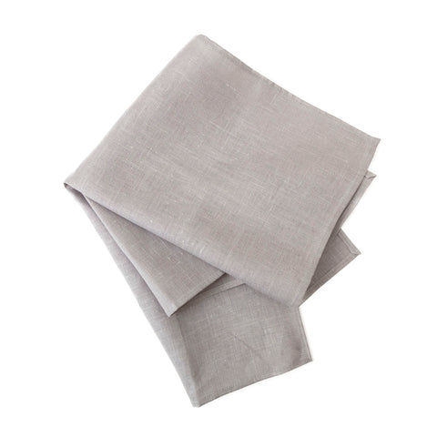 linen tea towel - grey - 50 x 70