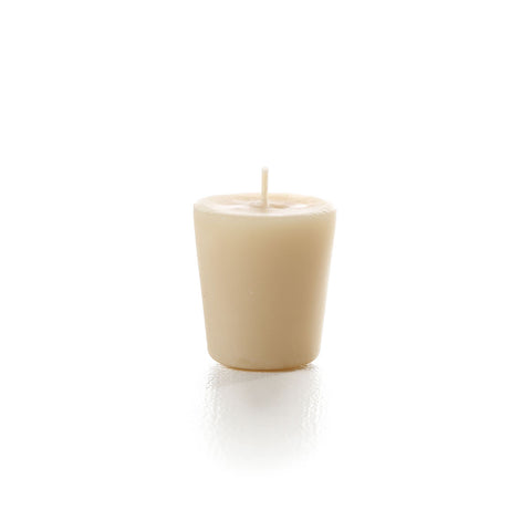 pure beeswax tall votive candle refill