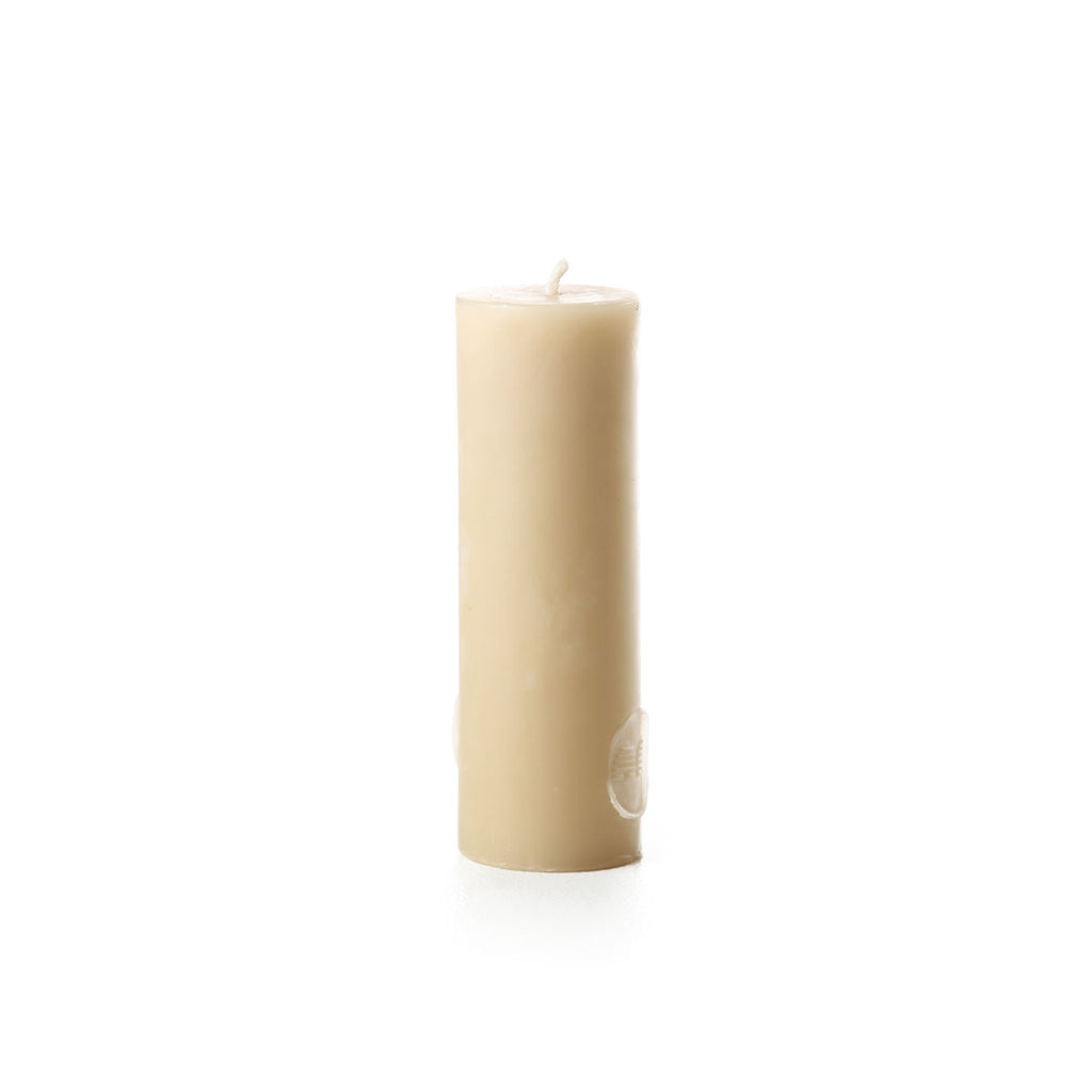 15cm pure beeswax pillar candle