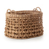 oval weaved basket - large