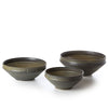 alessandro khaki salad bowl - large
