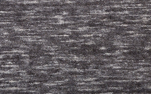 wool loop pile hand loomed dark grey carpet