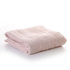 100% linen bed cover - coconut ice
