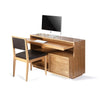 mini frame bookcase desk