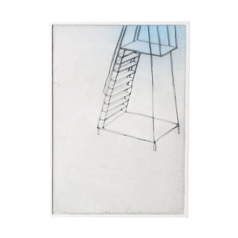 bec stevens - BS#54 - staircases, ladders and bridges platform, pier st underpass, ultimo