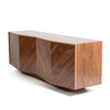 solid timber console
