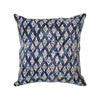 batik cotton double oxford cushion - tribal budi diamond