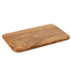 olive wood rectangular cutting board - 35x20cm