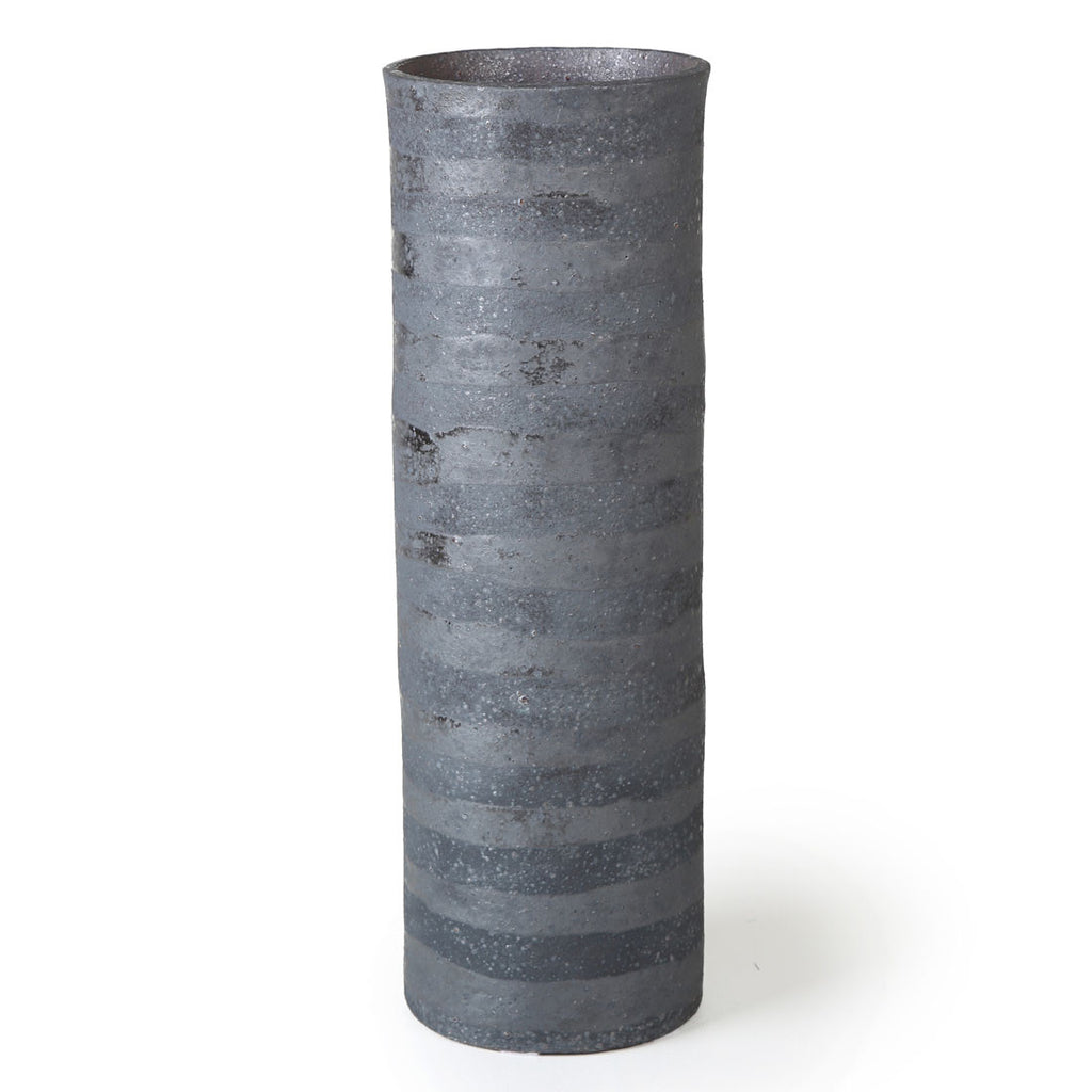 alpren black stripe vase - large