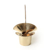 planet solid brass incense holder