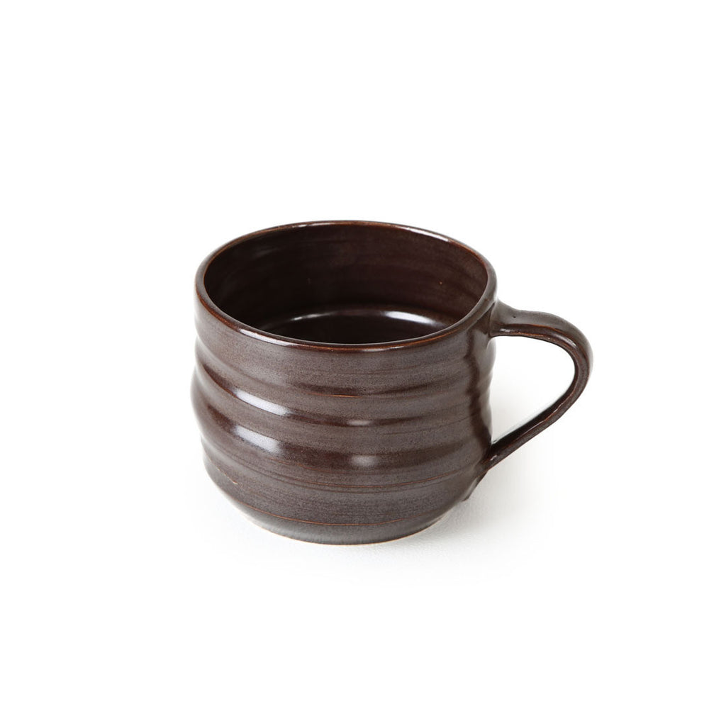 alessandro tea cup in chocolate