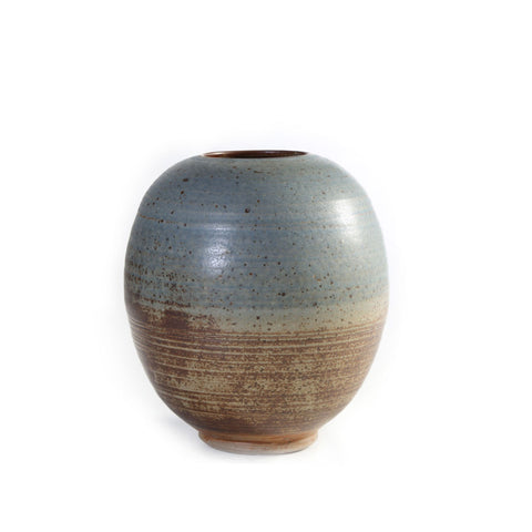 david collins hand thrown large vase