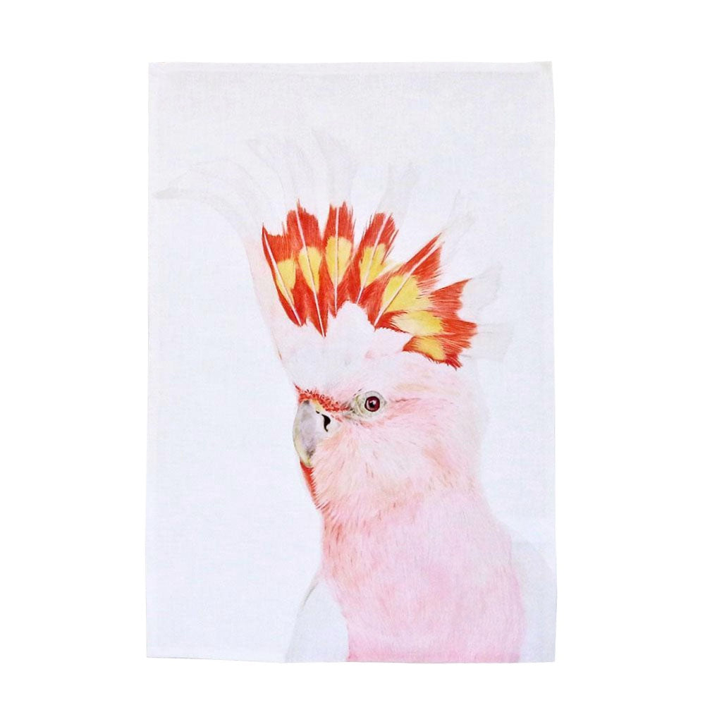 mitchell cockatoo tea towel