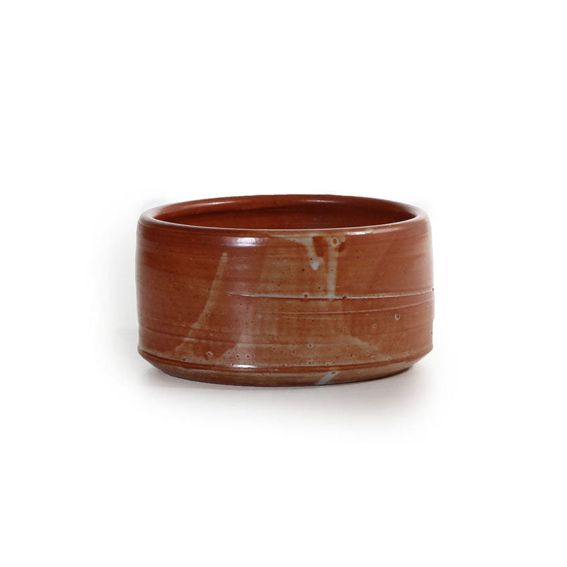 david collins -medium shino bowl