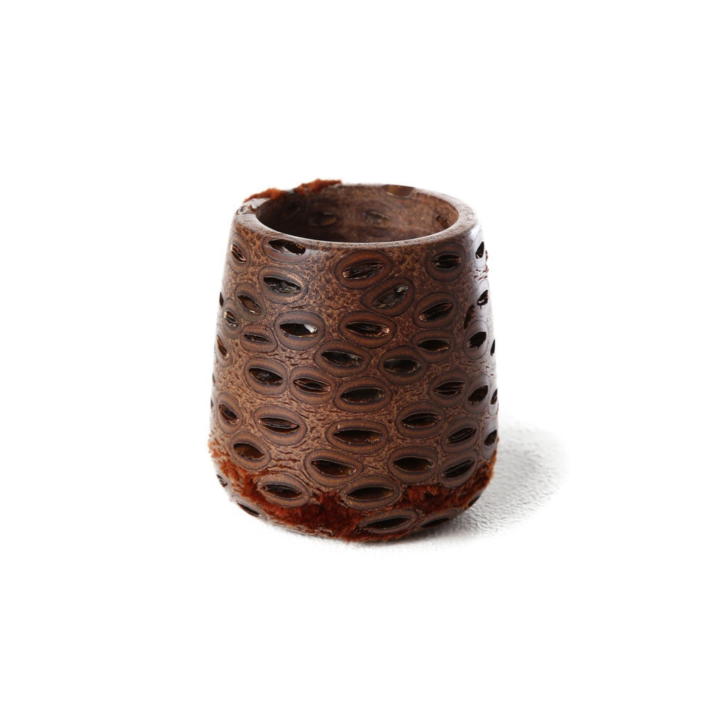banksia votive holder small