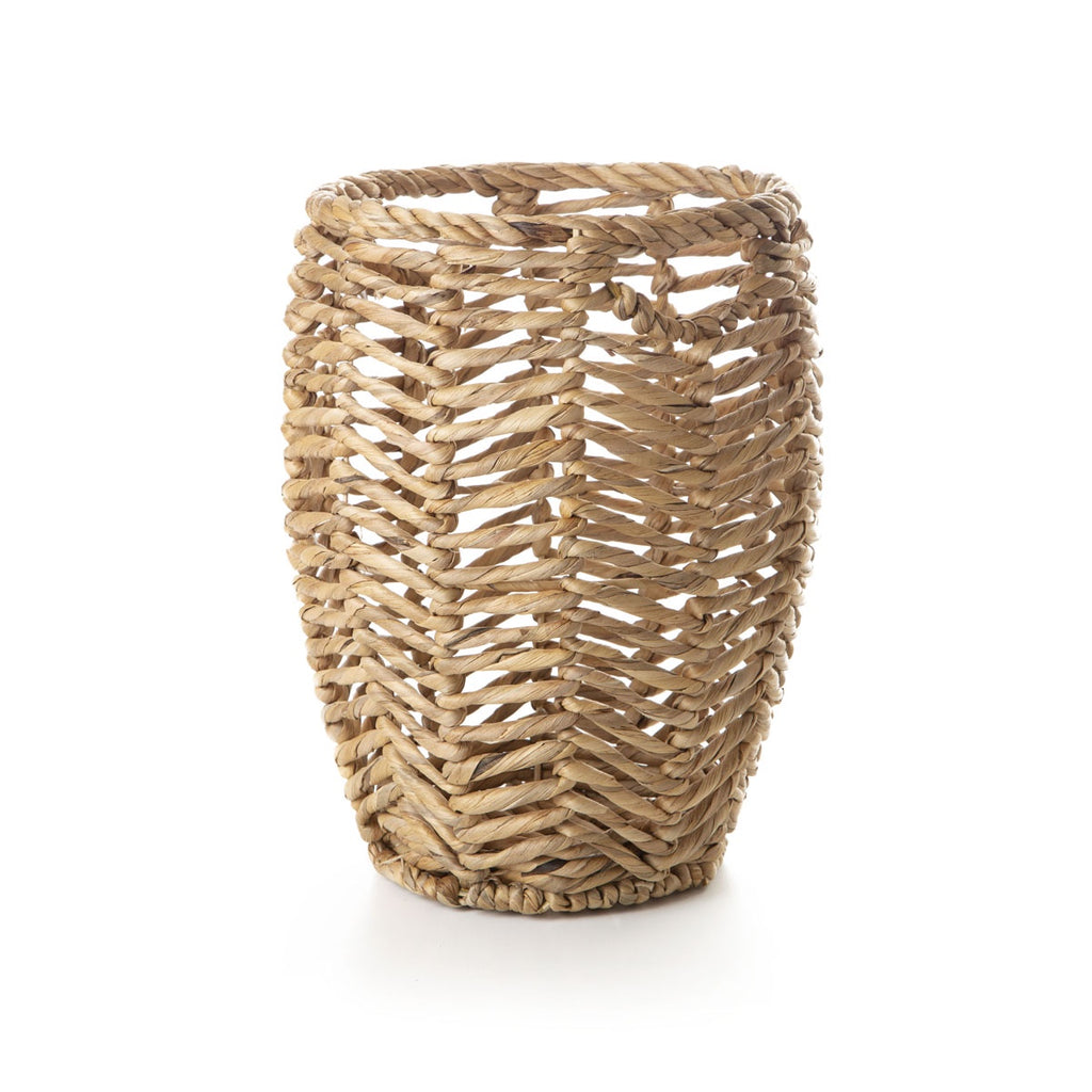 round weaved basket - small