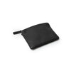 black zipper wallet - small
