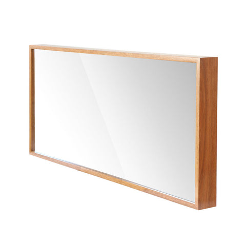 frame timber mirror