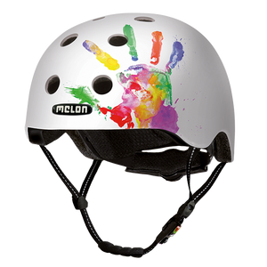 Bicycle Helmet Urban Active »Handprint« - Melon®