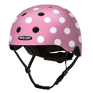 Bicycle Helmet Urban Active »Dotty Pink« - Melon®