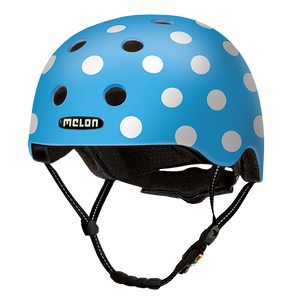 Bicycle Helmet Urban Active »Dotty Blue« - Melon®