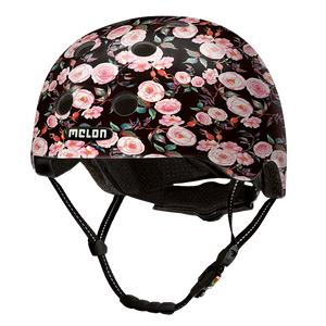 Bicycle Helmet Urban Active »Rose Garden« - Melon®