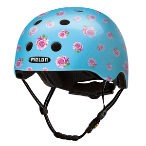 Bicycle Helmet Urban Active »Flying Roses« - Melon®