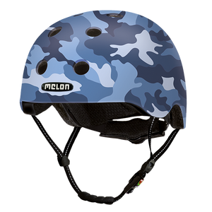 Bicycle Helmet Urban Active »Camouflage Blue« - Melon®