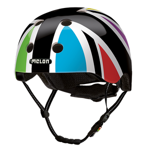 Bicycle Helmet Urban Active »Union Jack Harlekin« - Melon®