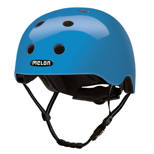Bicycle Helmet Urban Active »Rainbow Blue« - Melon®