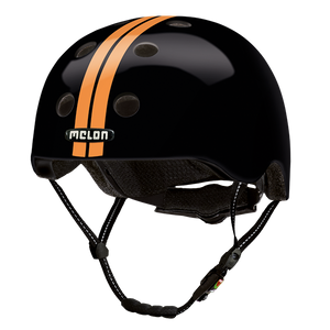 Bicycle Helmet Urban Active »Straight Orange Black« - Melon®