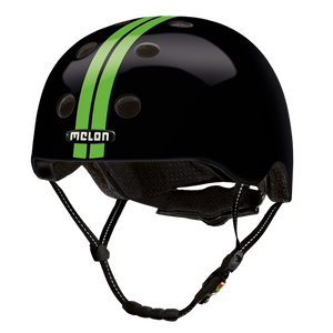 Bicycle Helmet Urban Active »Straight Green Black« - Melon® Helmets Urban Active Fahrradhelm