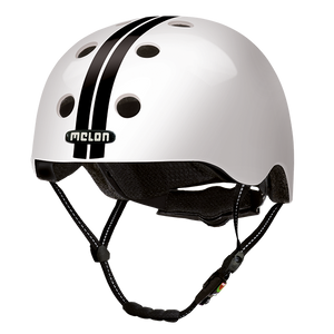 Bicycle Helmet Urban Active »Straight Black White« - Melon® Helmets Urban Active Fahrradhelm