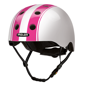 Bicycle Helmet Urban Active »Double Pink White« - Melon®