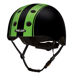 Bicycle Helmet Urban Active »Double Green Black« - Melon® Helmets Urban Active Fahrradhelm
