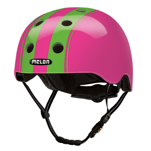 Bicycle Helmet Urban Active »Double Green Pink« - Melon®