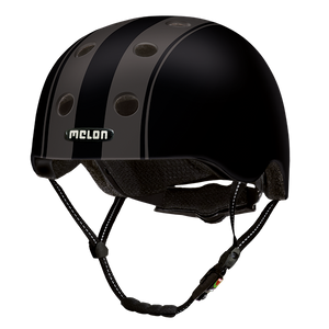 Bicycle Helmet Urban Active »Decent Double Black« - Melon® Helmets Urban Active Fahrradhelm