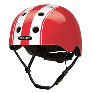 Bicycle Helmet Urban Active »Double White Red« - Melon®