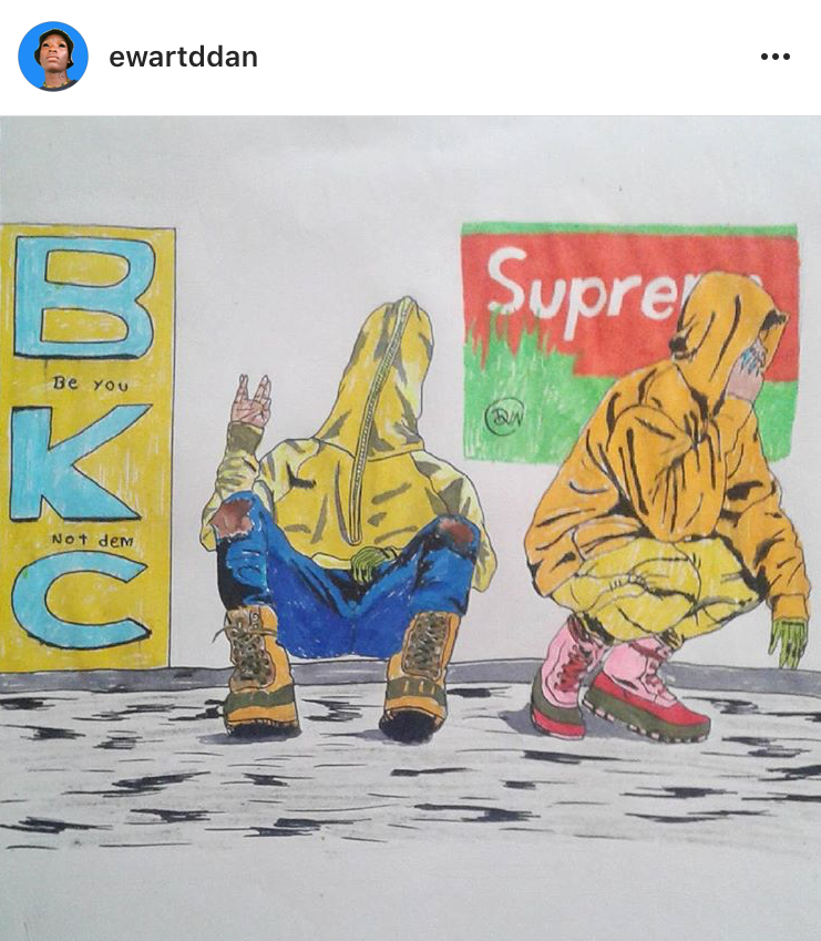 streetwear fashion art supreme