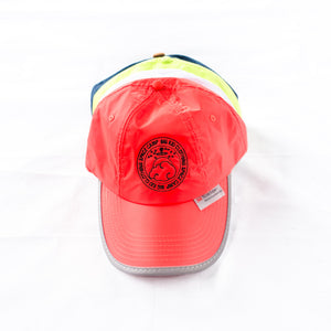 Space Camp Reflective Cap – Fluro Orange 3M