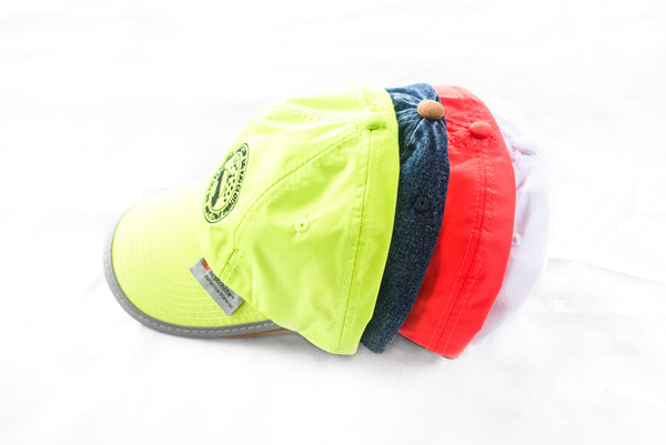 Big Kid Clothing - Big Kid Clothing, Space Camp Reflective Cap – Fluro Green 3M, Dad Hat