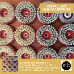 HT Snail Lock Diamond Brushes
